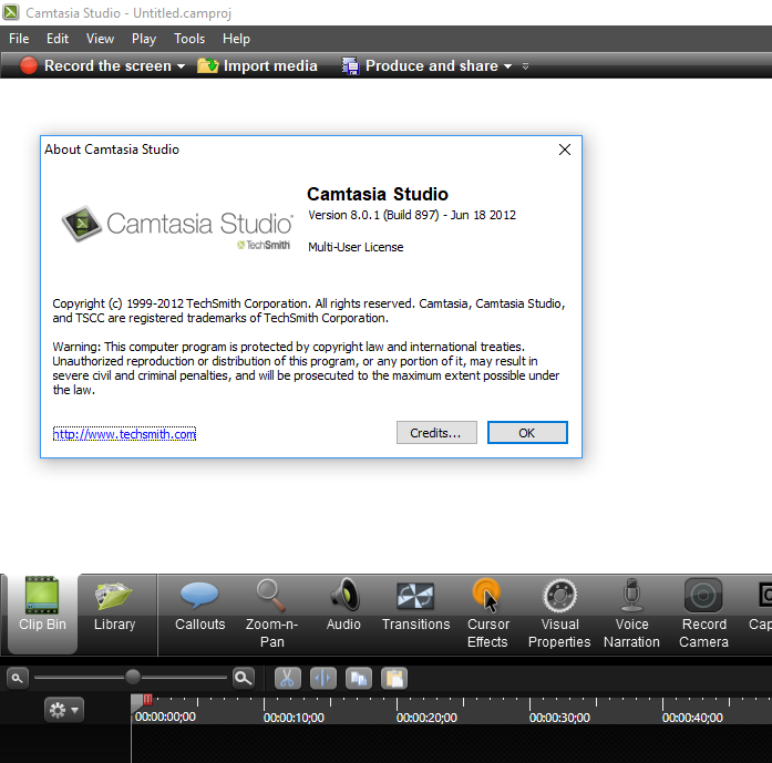 تحميل برنامج Camtasia Studio 8 كامل