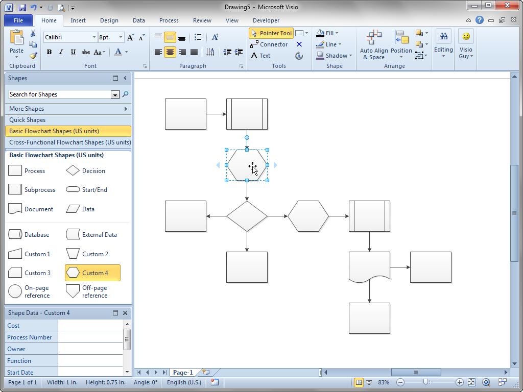 تحميل برنامج رسم المخططات الهندسية مايكروسوفت فيزيو Microsoft Visio 2010