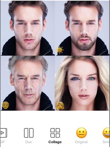 تطبيق [android, iPhone] نسخة FaceApp Pro لتعديل صور الوجوه تحويل إلى عجوز أو شاب أو فتاة ..