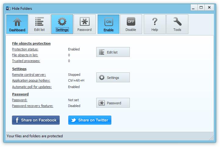 برنامج إخفاء وحماية المجلدات Hide Folders 5.3 full مع التفعيل