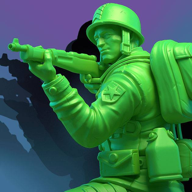 لعبة Army Men Strike الان للاندرويد