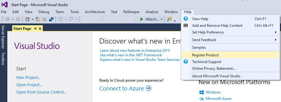 Visual Studio 2010, 2012, 2013, 2015, 2017 product key ...