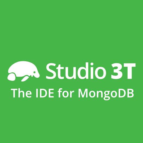 برنامج Studio 3T  من أفضل البرامج مع واجهة رسومية لإدارة قواعد بيانات MongoDB